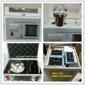 Auto Precision Oil Resistivity & Dielectric Loss Tester Meter pictures & photos