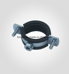 Pipe Clamp with Rubber & M8 Nut