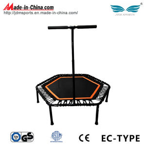 50 Inch Hexagon Bungee Trampoline with Handle