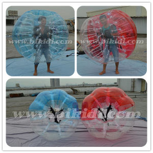 Adult Size Bubble Football, Half Color TPU Bubble Soccer Ball D5101 pictures & photos