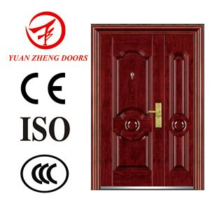 Exterior Sliding Single Double Metal Door for Iran pictures & photos