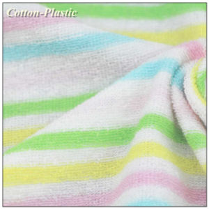 Yarn Dyed Stripe Terry Cloth Fabric for Baby Garment