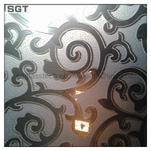 Low Iron Frosted Patterned Glass for Decorate pictures & photos