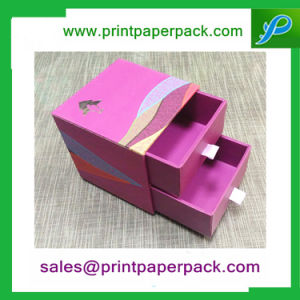 Custom Printed Luxury Cosmetic Paper Packaging Drawer Box pictures & photos