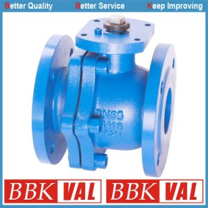 Cast Iron Ball Valve Ductile Iron Ball Valve Floating Ball Valve DIN pictures & photos