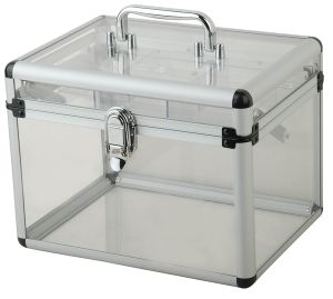 OEM New Design Transparent Acrylic Tool Case Carrying Case