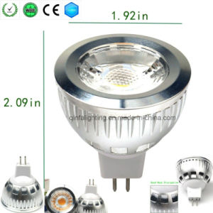 6W MR16 Dimmable COB LED Bulb