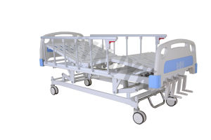 Five Functions Manual Hospital Bed pictures & photos