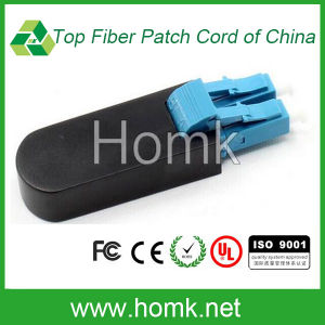 LC/PC Fiber Optic Loopback with Cover