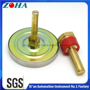 "120 Degree Celsius 63mm/2.5"" Back Connection Stem 64mm Bi-Metal Thermometer pictures & photos"