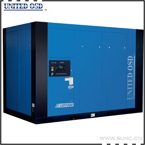 110kw 5bar Low Pressure Industrial Rotary Screw Air Compressor
