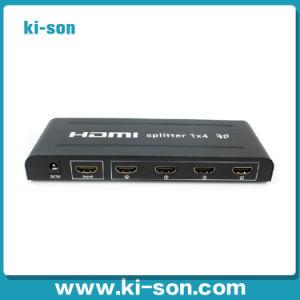 Hot Selling 3D Supported 1 in 4 out 1X4 HDMI Splitter