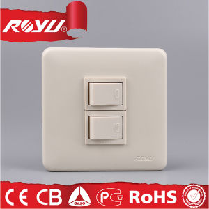 86 Size Module Type Screw Type 15A Wall Switch pictures & photos