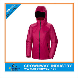 Whole Cheap Gore Waterproof Jacket for Ladies pictures & photos