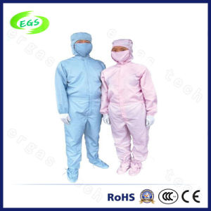 ESD Connected Garment with Cap for Cleanroom Use (EGS-PP20) pictures & photos