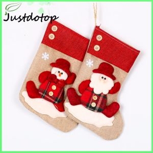 Fancy Felt Christmas Home Decoration Plain Christmas Stocking
