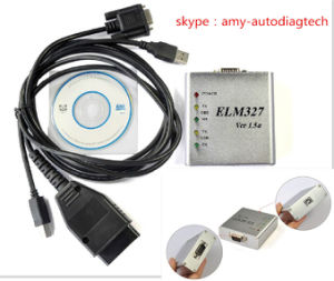 Elm 327 1.5V USB Can-Bus Scanner Elm327 with Newest Software pictures & photos