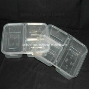 Ly Disposable Plastic Lunch Box with Lid (LY-GY3) pictures & photos
