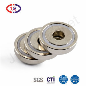 Super Strong Neodymium Cup Magnet Countersunk Round Magnet Used as Tool Holder and Door Latch W  sc 1 st  Made-in-China.com & China Super Strong Neodymium Cup Magnet Countersunk Round Magnet ...