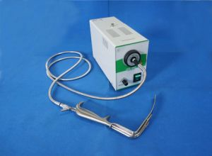 LED Cold Light Source with Single Fiber Optic Cable Microscope Illumination pictures & photos