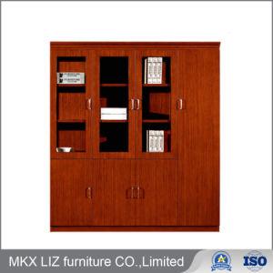 China High End Wooden 4 Door Storage Furniture Bookshelf