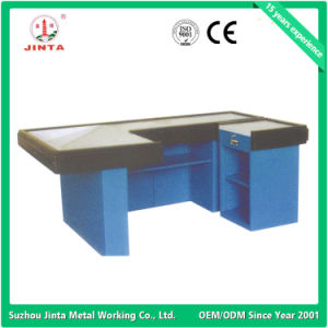 Check-out Counter, Cash Counter, Checkout Counter with Belt pictures & photos