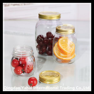 250ml Glass Jam Bottle with Metal Lid pictures & photos
