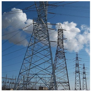 Electric Power Distribution and Transmission Tower/Steel Structure