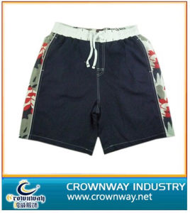 Men′s Beach Short with Allover Printing Side Panel pictures & photos