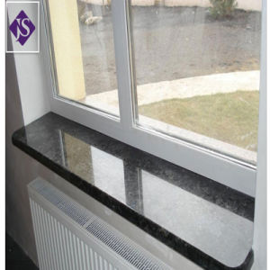 Polished Black Granite Windowsill For Interior Exterior Decoration