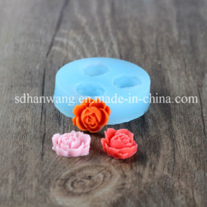 F0101 Cheap Wholesale Food Grade Fondant Silicone Flower Molds for Cake Decoration