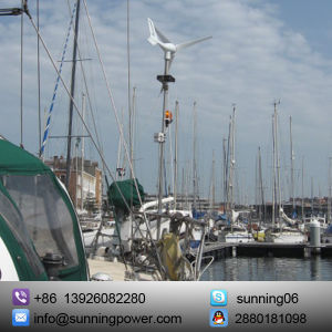 Solar Wind Turbine for Boat Use