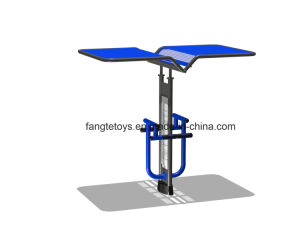 Outdoor Gym Equipment with Sunshade Roof, Best Sales Playground Equipment Model-17