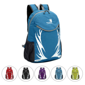 35L Foldable Waterproof Nylon Outdoor Camping Sports Backpack Bag (YKY7293) pictures & photos