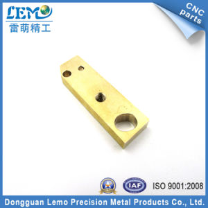 Brass Machined Components by CNC Machining (LM-0603F) pictures & photos