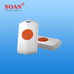 One Button Auto Dialer, Patient Call Button, Panic Emergency Button Key for Wireless Emergency Calling System