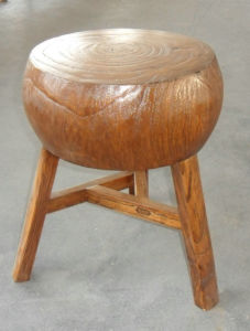 Chinese Reproduction Wooden Stool Lws013 pictures & photos