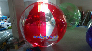Red Inflatable Ball for Beach (TK-024)