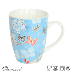 New Bone China Butterfly Design Gift Mug pictures & photos