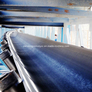DIN Standard Curved Conveyor Belt for Mining Material Handling