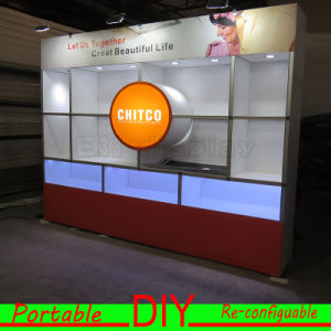 Custom Portable Modular Advertising Furniture Shelves Display Exhibition pictures & photos