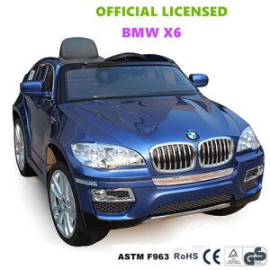 China Official Licensed Bmw X6 Children Ride On Car Battery Operated