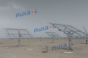 Solar Dual Axis Tracking System Made in China (MPPT) pictures & photos