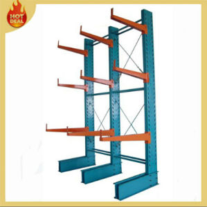 Warehouse Industrial Galvanized Heavy Duty Cantilever Lumber Rack pictures & photos