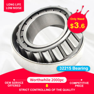 32215 Excavator Parts Inch Bearing Auto Bearing Wheel Bearing Tapered Roller Bearing with Motorcycle Parts 32211 32212 32213 32214 32216 32217