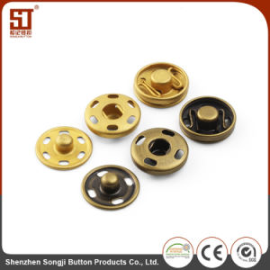 Garment Accessories Brass Material Sewing Snap Button 2 Parts Press Button pictures & photos