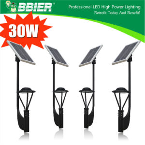 3900lm 30 Watt solar powered motion lights pictures & photos