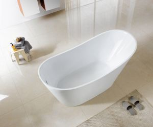 1700/1800mm Slipper Freestanding Acrylic Bathtubs pictures & photos
