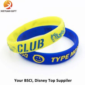 Hot Sales Custom Blue Silicone Fragrance Bracelet pictures & photos