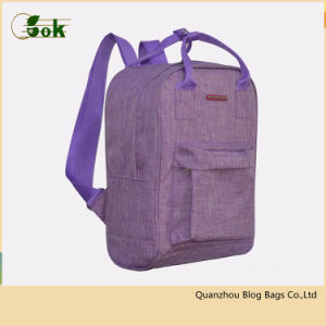 eef35e5eb6 China Fashion Purple Adults Girls Small Travel Rucksack Backpack for ...